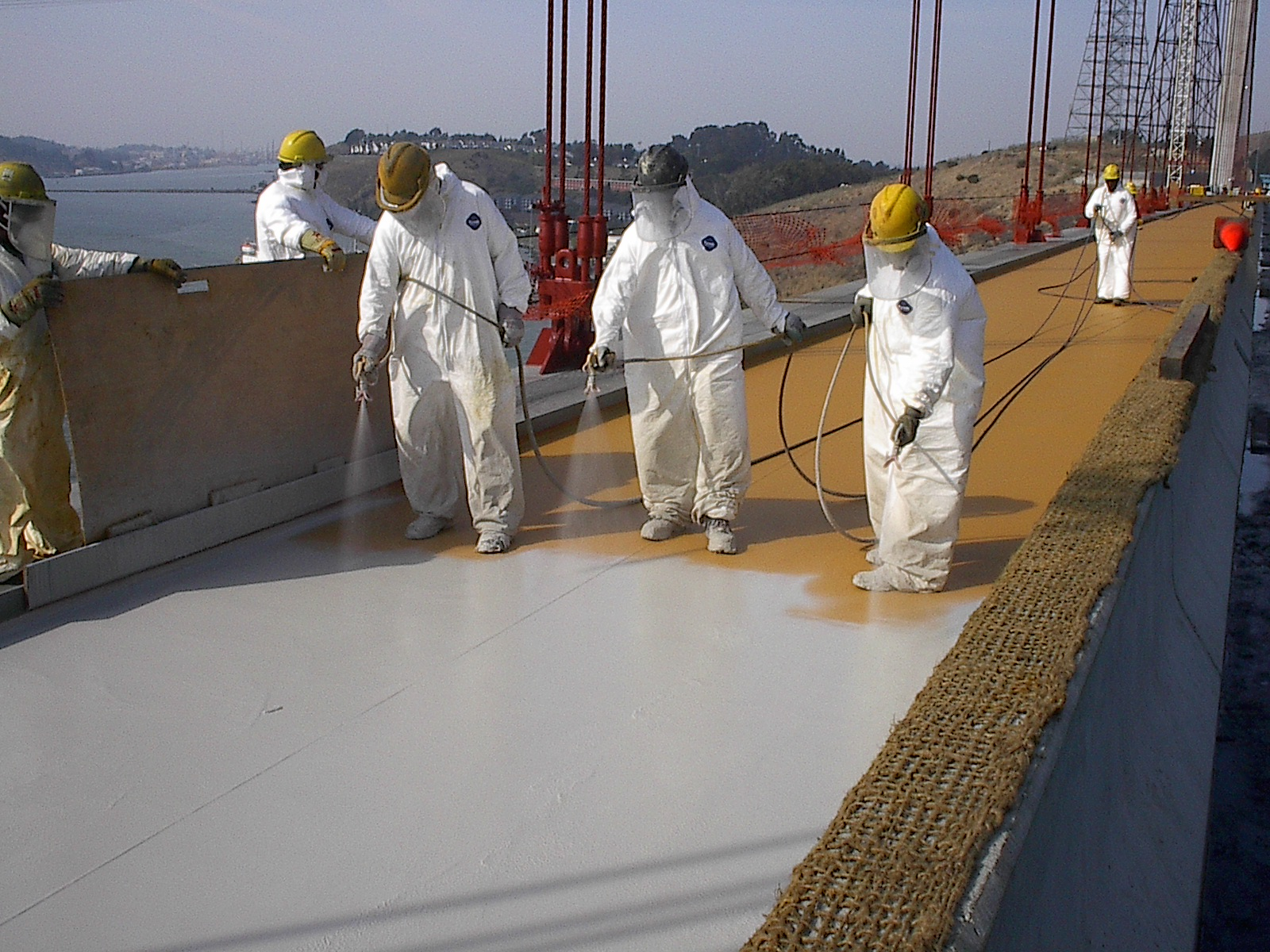 Spray Applied Waterproofing – Venture Construction